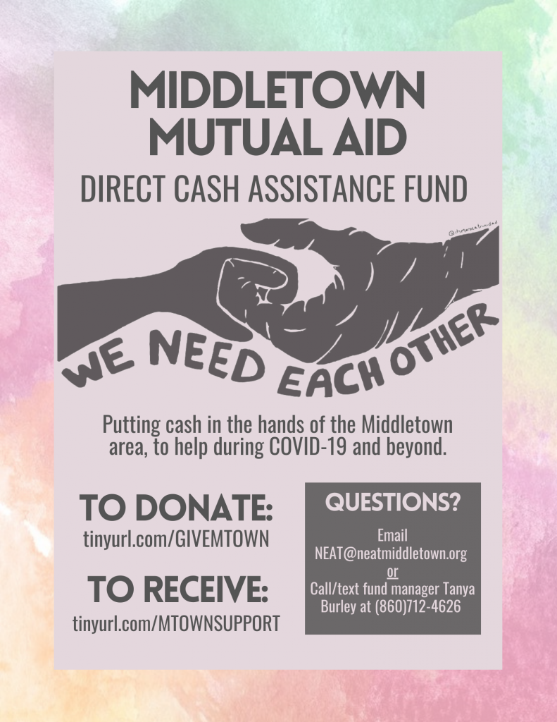 Middletown Mutual Aid Flyer
