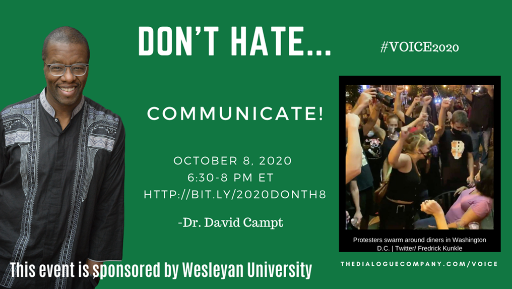 Don't Hate Communicate Flyer