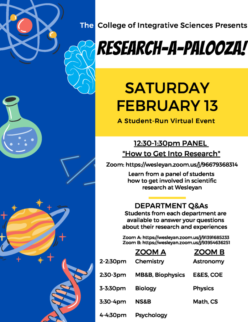 Research-A-Palooza Flyer