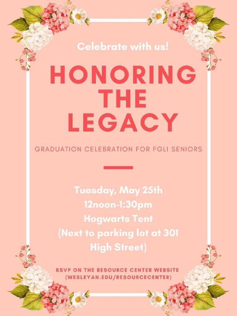 FGLI Grad Celebration Flyer