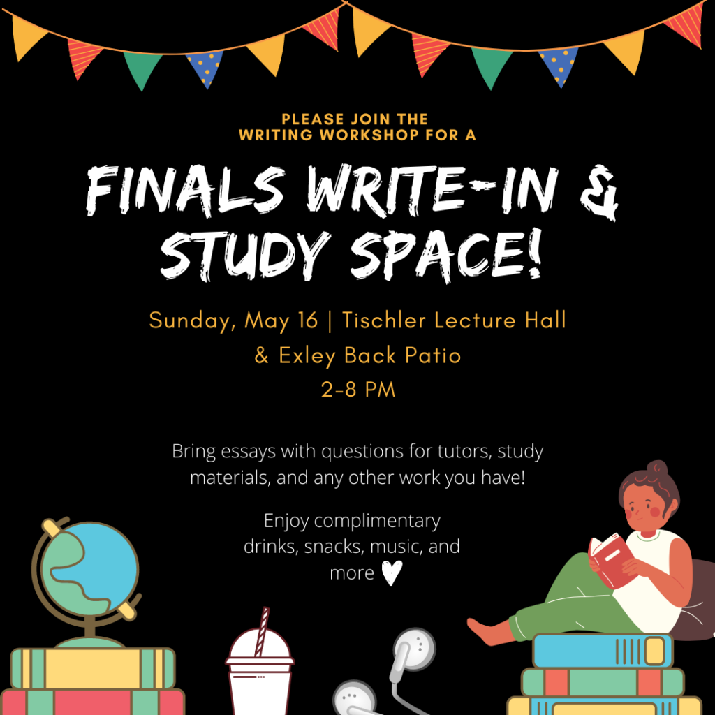 Finals Write-in Flyer May 16